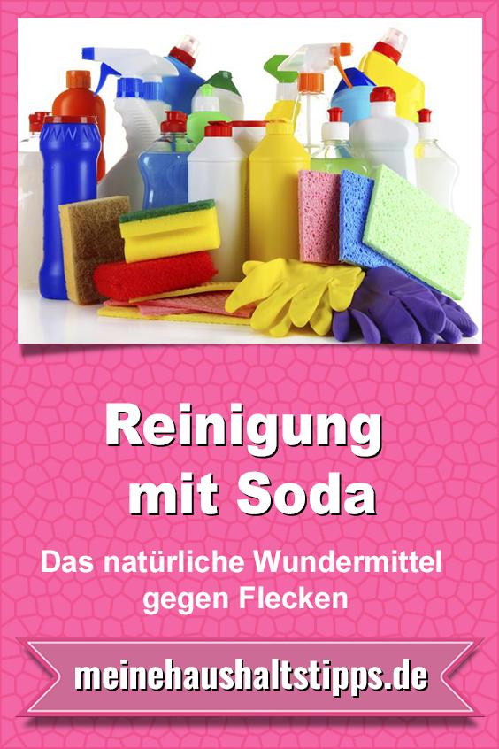 Reinigung mit Soda