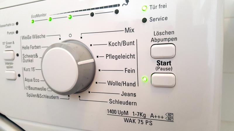 Waschmaschine entkalken: So wird's gemacht!