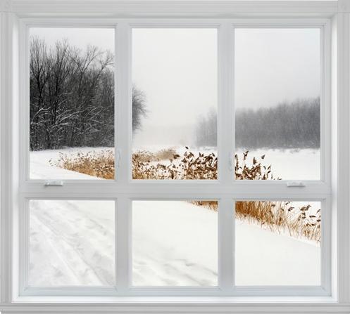 Inhalt des Artikels sind Tipps zum Fensterputzen im Winter.