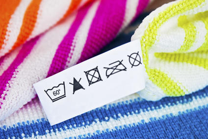 Der Zettel in der Kleidung
