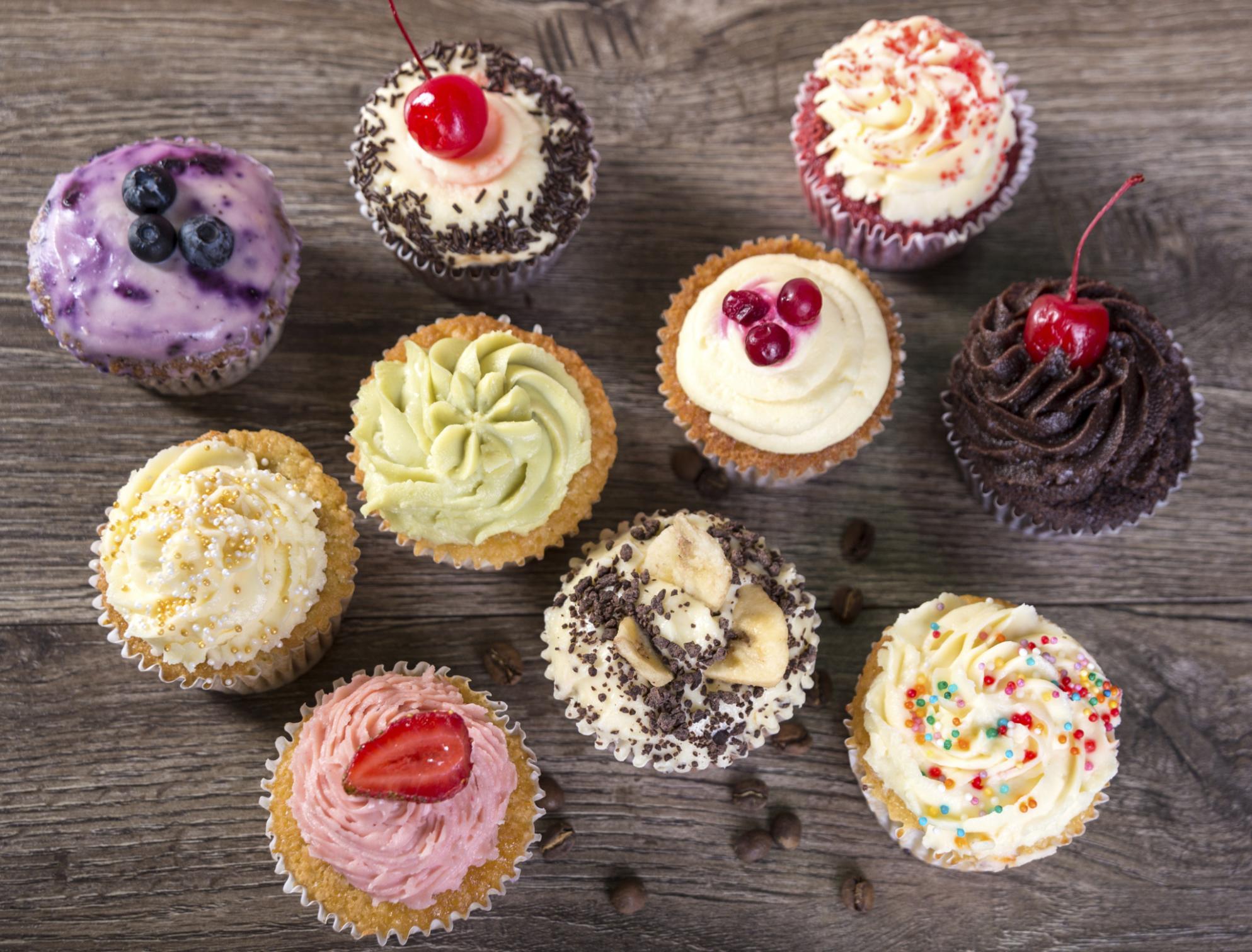 Lecker Cupcakes sind Trend