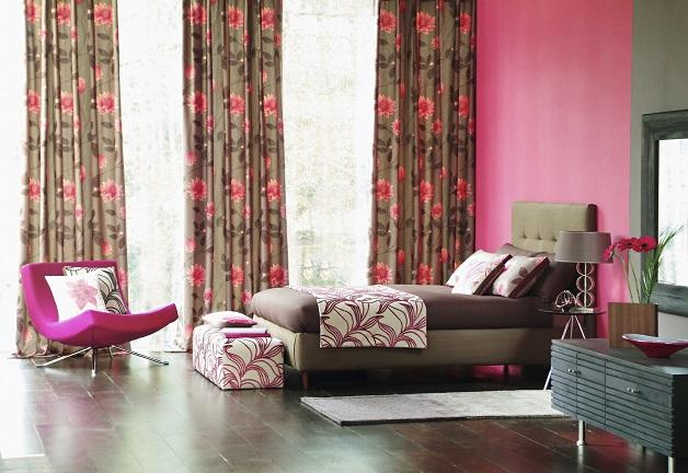 Luxuriös eingerichtetes Schlafzimmer