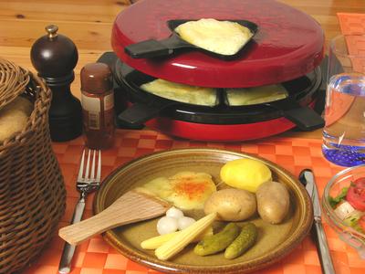 Raclette-Menü