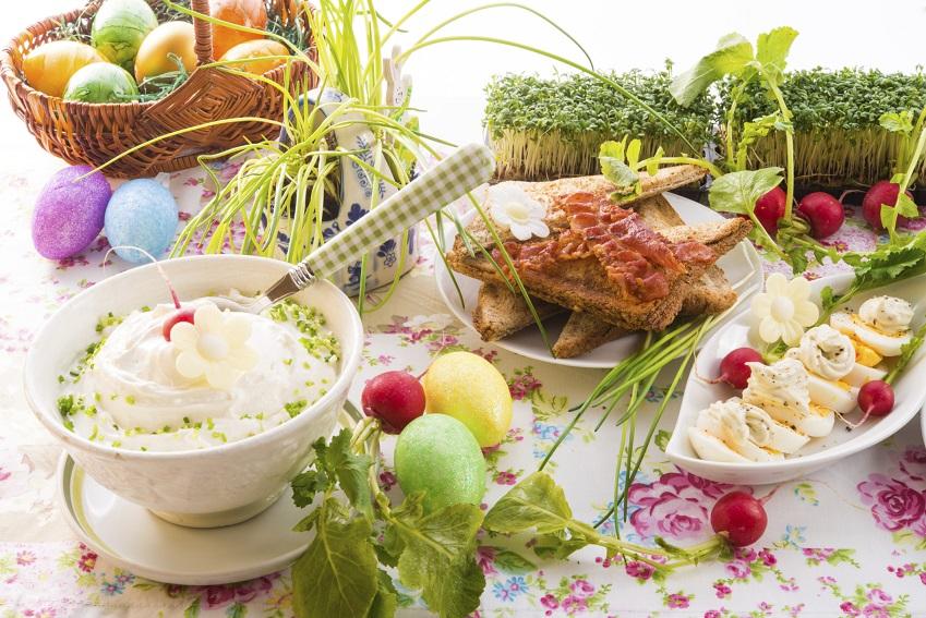 Rezepte und Dekoration: Schnelle Oster-Ideen für den Tisch