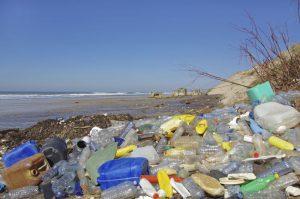 Beach pollution
