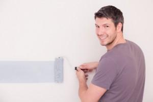 Räume durch Farben und Streichtechniken wohnlich gestalten – so geht's