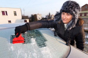Wintercheck: Autotüren vor dem Festfrieren schützen