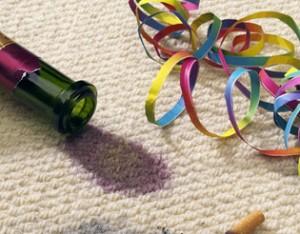 Alles muss raus! Teppichflecken rückstandslos entfernen