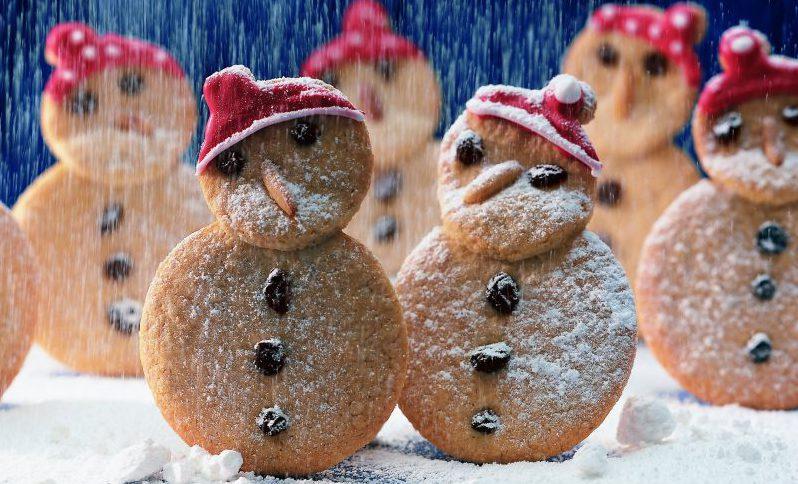 Weihnachtsbäckerei mit Haferflocken