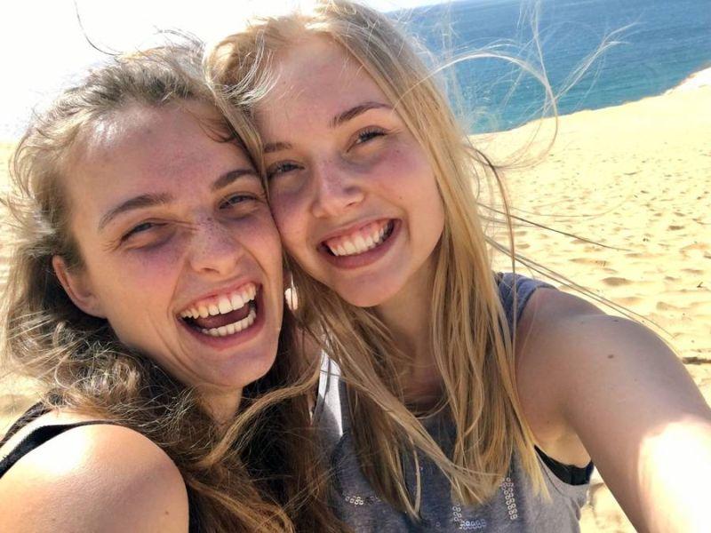 Läuse durch Selfies