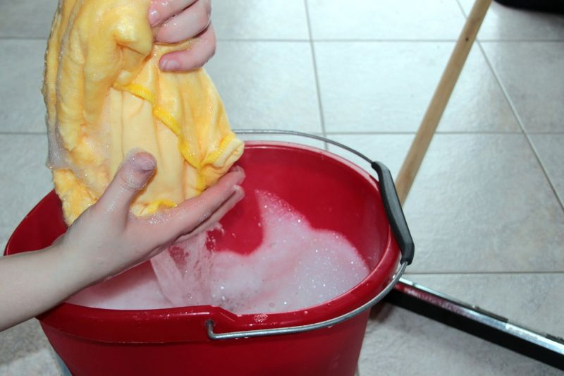 Putzen, schrubben, saubermachen, nein danke